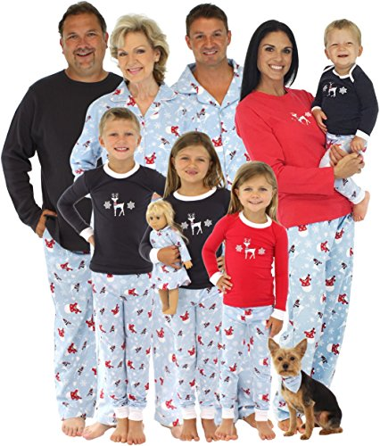 Snowman Family Matching Christmas Pajamas
