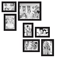 MCS 7-Piece Gallery Frame Set, Black…
