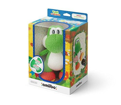 Amiibo Mega Yoshi Di Lana - Yoshi'S Woolly World Collection