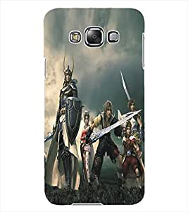 ColourCraft Warriors Design Back Case Cover for SAMSUNG GALAXY GRAND 3