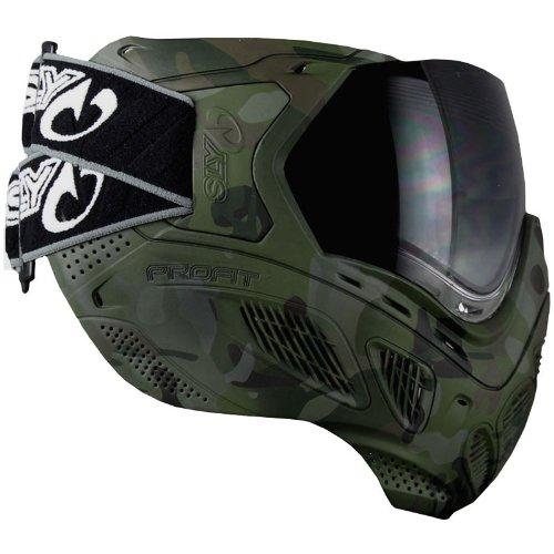Imagen de SLY beneficio térmica Paintball Máscara Anti-Fog Goggle LE - TOTAL SlyCam Negro