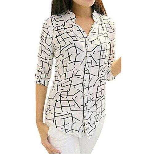 Women-Blouses-Misaky-Elegant-Long-sleeve-Print-Chiffon-Top