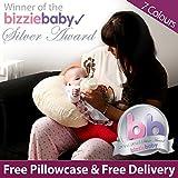 Almohadas Para Embarazo. Net Exclusive - Lavanda Almohada De Lactancia (Funda De Almohada Suave Gratis)