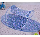 Blue Baby Boy-Instant Pop Up Mosquito Net Crib, Baby Tent, Beach Play Tent, Bed Playpen,