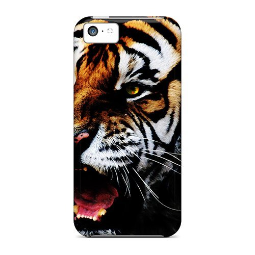 NadaAlarjane Protective Case For Iphone 5c(feral Rage) (Rage Rubber Wig)