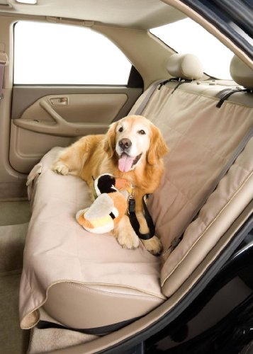 Dog Car Seat Cover-Rear Bench - Fleece (56