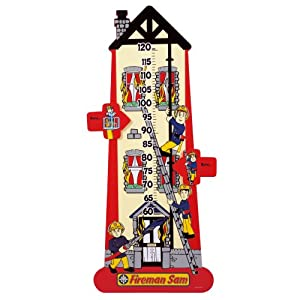 Fireman Sam Wooden Height Chart