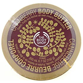 Body Shop Cranberry Body Butter 6.7 Oz.