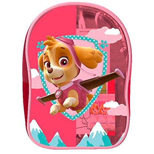 mochila-semitransparente-patrulla-canina-skye-set-colorear