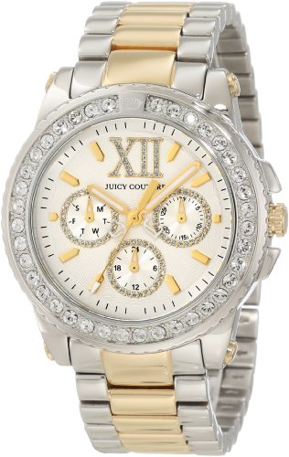 Juicy Couture Women's 1900956 Pedigree Two Tone Bracelet Watch