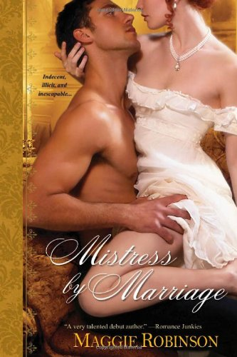 Post Thumbnail of Review: Mistress by Marriage by Maggie Robinson