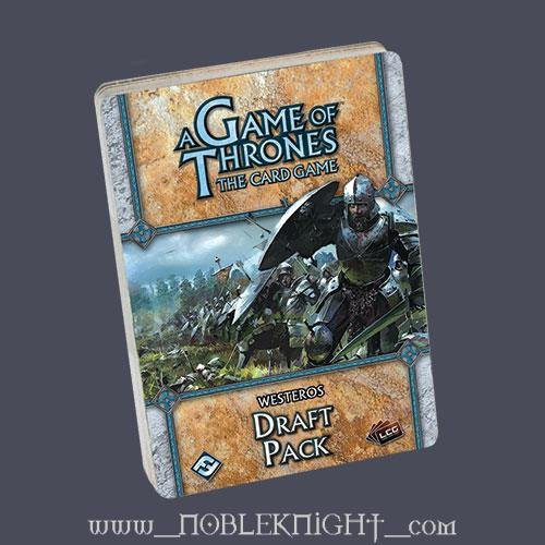 A Game of Thrones the Living Card Game: Westeros Draft Pack
