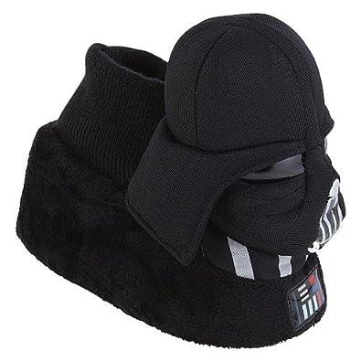 com darth vader toddler slip in bedroom slippers medium 9 10 shoes