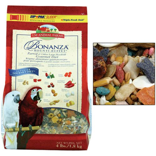 Cheap LM Animal Farms Bonanza Gourmet Diet Small Parrot Bird Food (B00065Z63K)