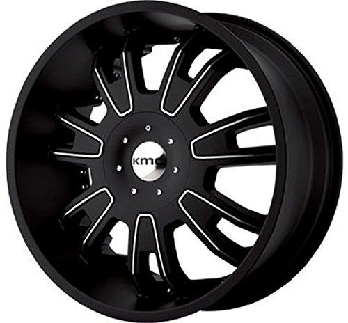 22-kmc-km-664-matte-black-machine-face-wheels-tire-package-lexani-forgiato-asanti-giovanna-audi-merc