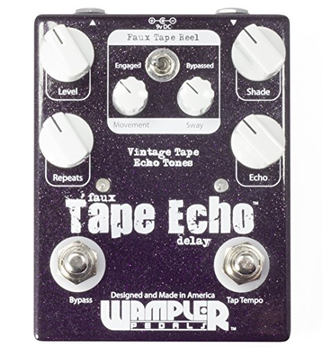 wampler-faux-tape-echo-with-tap-tempo-delay-guitar-effects-pedal