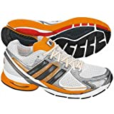 ADIDAS adiSTAR Salvation 2.0 Men's Running Shoes, White/Silver/Orange, UK14.5by Adidas