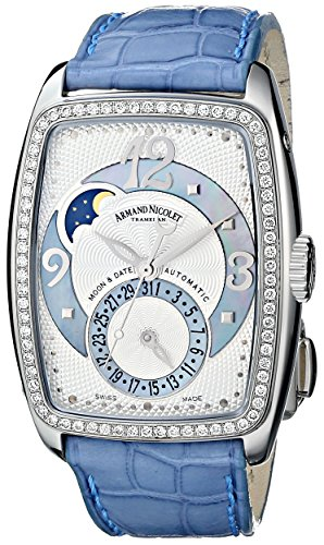 Armand Nicolet Women's 9633D-AK-P968VL0 TL7 Classic Automatic Stainless-Steel with Diamonds Watch