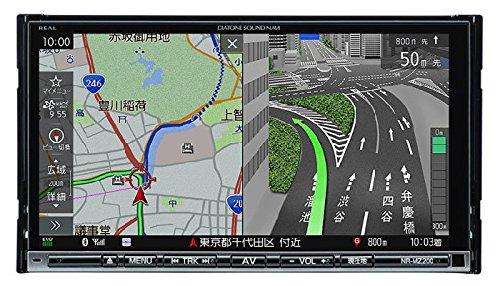 [三菱/MITSUBISHI] フルセグ・ワンセグ対応地上デジタルチューナー(1seg+12seg)内蔵7V型WVGAモニター/DVD/CD対応(Bluetooth内蔵) DIATONE SOUND. NAVI 【品番】 NR-MZ200