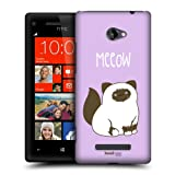 Head Case Designs Birman Kitty Cats Protective Snap-on Hard Back Case Cover for HTC Windows Phone 8X