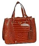 Abrazo Stylishly Yours Women's Handbag(Brown)(SIKN884)