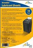 Royal Sovereign RS-SLS Shredder Lubricant Sheets, 10-Pack