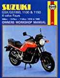 Haynes Manual for Suzuki GS/GSX1000, 1100 & 1150 4-valve Fours (79 - 88) Including an AA Microfibre Magic Mitt