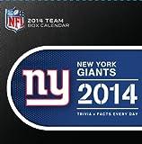 Turner - Perfect Timing 2014 New York Giants Box Calendar (8051208)