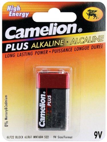 Alkaline Batteries 1/Pkg-9V