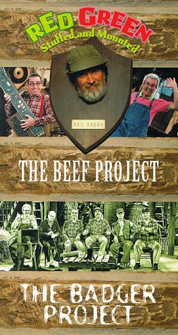 Red Green Show: Beef Project & Badger Project [VHS]