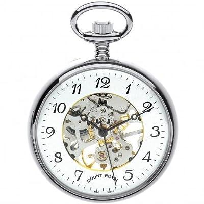 Mount Royal Pocket Watch B3C/AF Chrome Plated Open Face