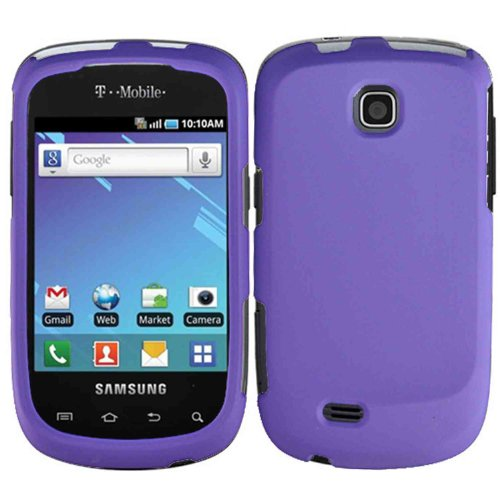 Dark Purple Hard Case Cover for Samsung Dart T499 (Samsung Dart Case compare prices)