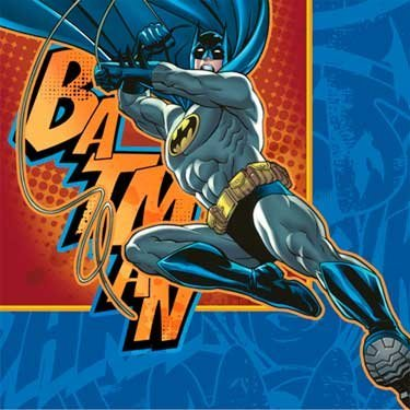 Batman Beverage Napkins 16pk at Gotham City Store