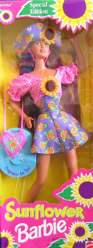 TERESA Sunflower Barbie Doll - Special Edition (1994) - 1
