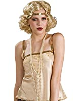 Rubies Costume White Pearl Necklace - Great with Flapper Costumes