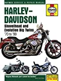 img - for Harley Davidson Shovelhead & Evolution Big Twins 1970-1999 (Haynes Service & Repair Manual) book / textbook / text book