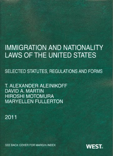 Immigration and Nationality Laws of the United States:...