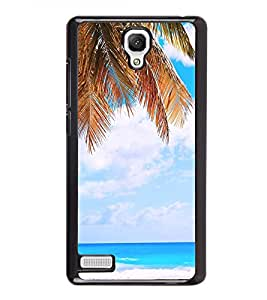 White Sand Beach 2D Hard Polycarbonate Designer Back Case Cover for Xiaomi Redmi Note :: Xiaomi Redmi Note 4G