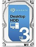 Seagate シーゲイト 内蔵 ハードディスク Desktop HDD 3.5 インチ 3TB ( SATA 6Gb/s / 7200rpm / 64MB ) 国内正規品 【オリジナル茶箱梱包】 ST3000DM001 -SWT
