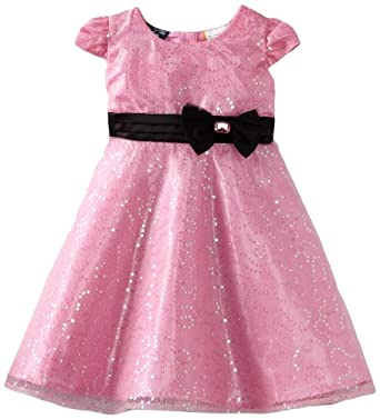 So La Vita Baby-Girls Infant Sequined Dress, Pink, 12 Months