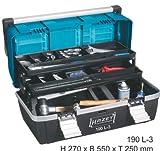 Hazet Kunststoff Werkzeugkasten Werkzeugkoffer 190L-3 190 L-3