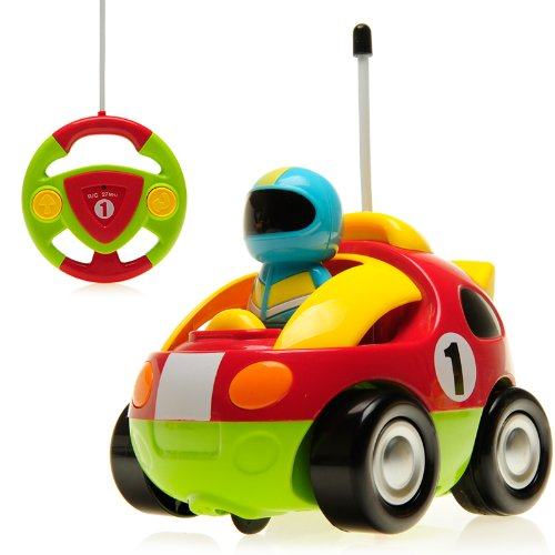 Cartoon R C Race Car Radio Control Toy For Toddlers