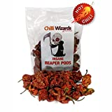 Genuine 100% Carolina Reaper Pods 10g - Worlds Hottest...