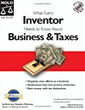 What Every Inventor Needs to Know About Business & Taxes