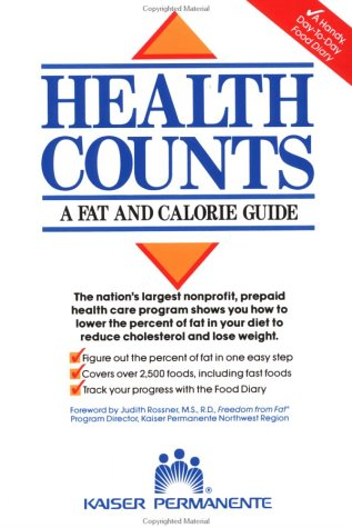 Health Counts: A Fat and Calorie Guide