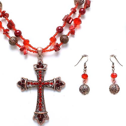 Antique Cross Set
