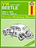 img - for Vw 1300 and 1500 Beetle 1965 Thru 1970 78.3 Cu in (Service & repair manuals) book / textbook / text book