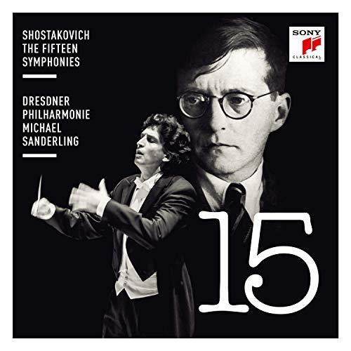 CD : SHOSTAKOVICH / SANDERLING,MICHAEL - Shostakovich: The Fifteen Symphonies (11 Discos)