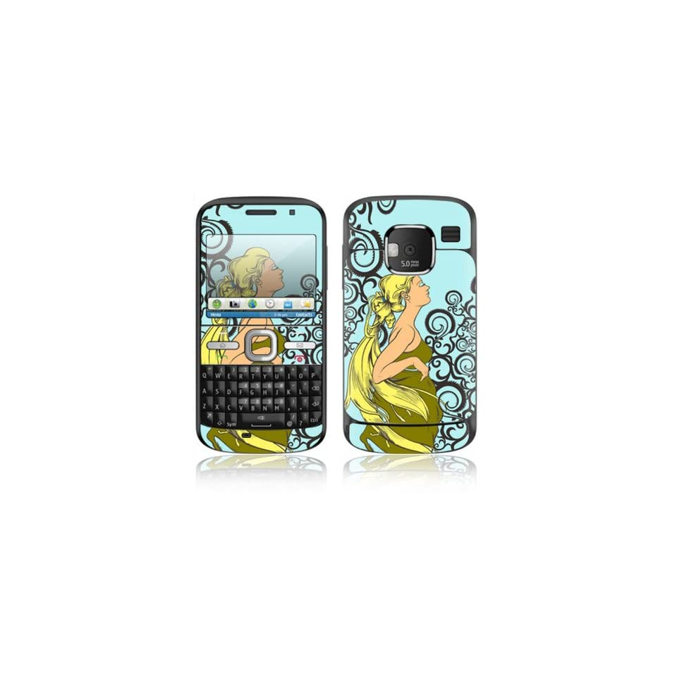 Dreamer Design Decorative Skin Cover Decal Sticker for Nokia E5 Cell Phone