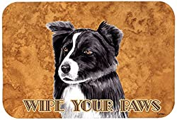 Carolines Treasures SC9138JCMT Border Collie Kitchen or Bath Mat, 24 by 36 , Multicolor